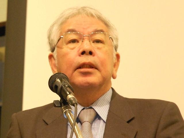 当社セミナー講演する日本海ヘルスケアネット代表理事の栗谷義樹氏